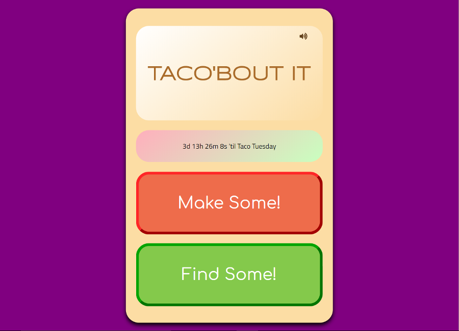 Taco 'bout it image